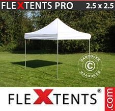 Quick-up telt FleXtents Pro 2,5x2,5m Hvit
