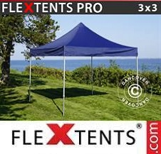 Quick-up telt FleXtents Pro 3x3m Mørk blå