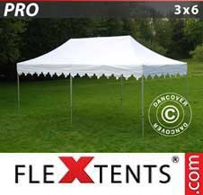 Quick-up telt FleXtents Pro 3x6m Hvit