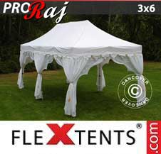 Quick-up telt FleXtents Pro 3x6m Hvit/Gull