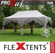 Quick-up telt FleXtents Pro 3x6m Latte/Oransje