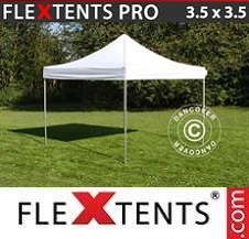 Quick-up telt FleXtents Pro 3,5x3,5m Hvit