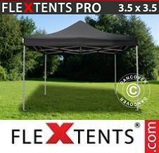 Quick-up telt FleXtents Pro 3,5x3,5m Svart