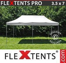 Quick-up telt FleXtents Pro 3,5x7m Hvit