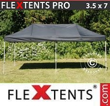 Quick-up telt FleXtents Pro 3,5x7m Svart