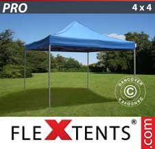 Quick-up telt FleXtents Pro 4x4m Blå