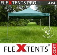 Quick-up telt FleXtents Pro 4x4m Grønn
