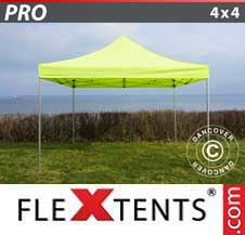 Quick-up telt FleXtents Pro 4x4m Neongul/Grønn
