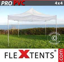 Quick-up telt FleXtents Pro 4x4m Transparent