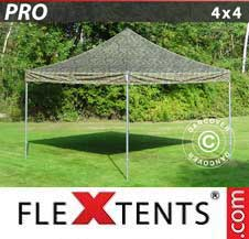 Quick-up telt FleXtents Pro 4x4m Kamuflasje