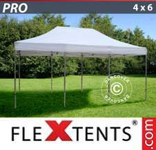 Quick-up telt FleXtents Pro 4x6m Hvit