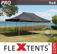 Quick-up telt FleXtents Pro 4x6m Svart