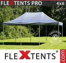 Quick-up telt FleXtents Pro 4x6m Grå