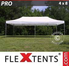 Quick-up telt FleXtents Pro 4x8m Hvit