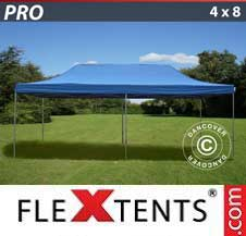 Quick-up telt FleXtents Pro 4x8m Blå