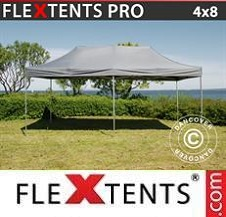 Quick-up telt FleXtents Pro 4x8m Grå