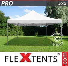 Quick-up telt FleXtents Pro 5x5m Hvit