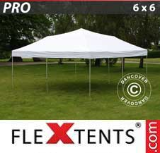 Quick-up telt FleXtents Pro 6x6m Hvit