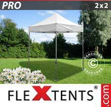 Quick-up telt FleXtents Pro 2x2m Hvit