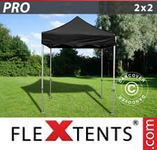 Quick-up telt FleXtents Pro 2x2m Svart