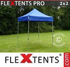 Quick-up telt FleXtents Pro 2x2m Blå