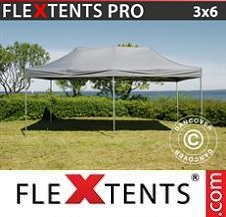 Quick-up telt FleXtents Pro 3x6m Grå
