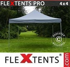 Quick-up telt FleXtents Pro 4x4m Grå