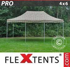 Quick-up telt FleXtents Pro 4x6m Kamuflasje