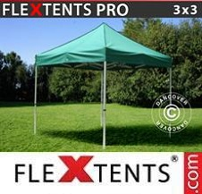 Quick-up telt FleXtents Pro 3x3m Grønn
