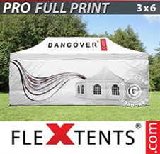 Quick-up telt FleXtents Pro 3x6m, inkl. 4 sider