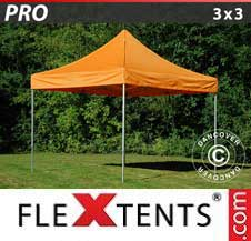 Quick-up telt FleXtents Pro 3x3m Oransje