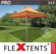 Quick-up telt FleXtents Pro 3x3m Oransje reflekterende