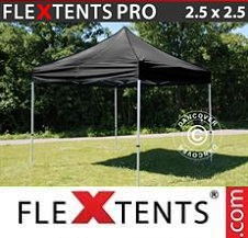 Quick-up telt FleXtents Pro 2,5x2,5m Svart