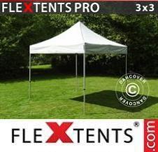 Quick-up telt FleXtents Pro 3x3m Sølv