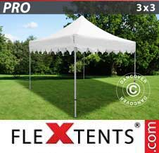 Quick-up telt FleXtents Pro 3x3m Hvit