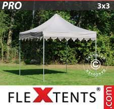 Quick-up telt FleXtents Pro 3x3m Latte