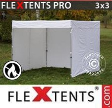 Quick-up telt FleXtents Pro 3x3m, hvit,...