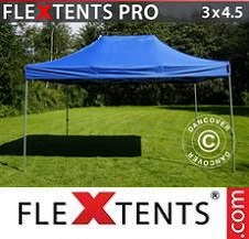 Quick-up telt FleXtents Pro 3x4,5m Blå