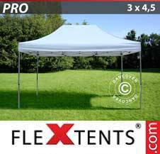 Quick-up telt FleXtents Pro 3x4,5m Hvit