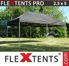 Quick-up telt FleXtents Pro 2,5x5m Svart