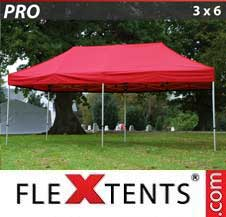 Quick-up telt FleXtents Pro 3x6m Rød