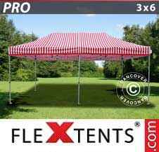 Quick-up telt FleXtents Pro 3x6m stripet