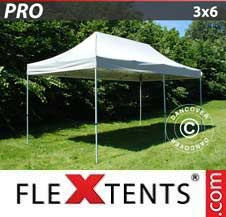 Quick-up telt FleXtents Pro 3x6m Sølv